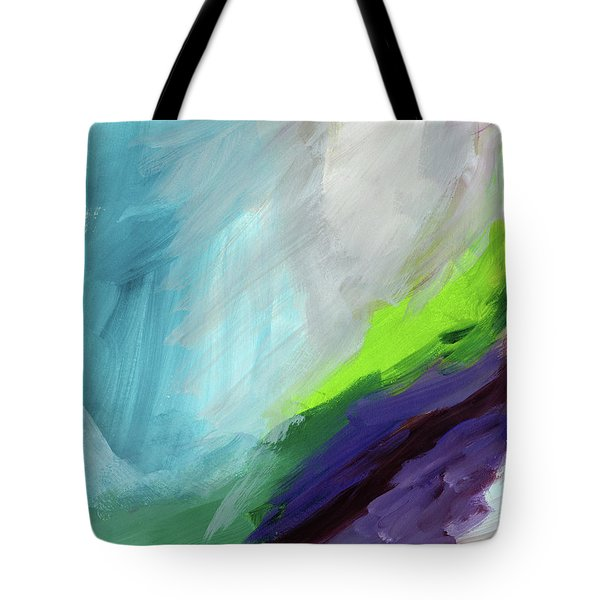 The Long Walk- Art By Linda Woods Tote Bag