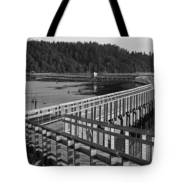 The Long Walk Tote Bag by I'ina Van Lawick