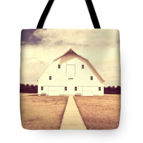 Tote Bag featuring the photograph The Long Walk by Julie Hamilton