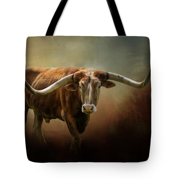 The Longhorn Tote Bag