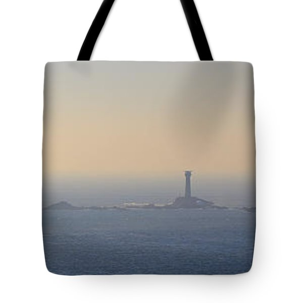 The Longships Lighthouse Cornwall Tote Bag
