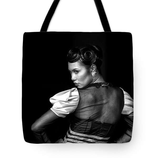 The Look Tote Bag by Charuhas Images