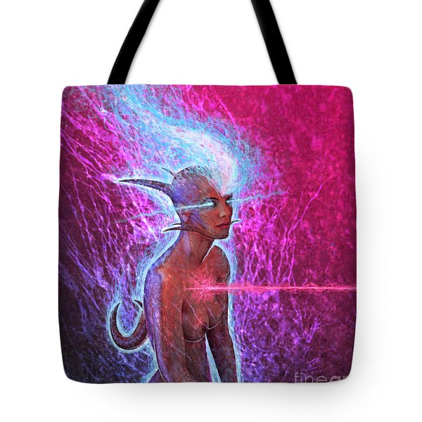 The Look Into I Tote Bag