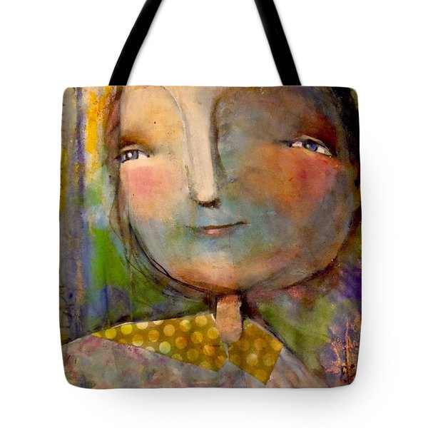 The Look Of Hope Tote Bag