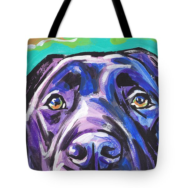 The Look Of Lab Tote Bag