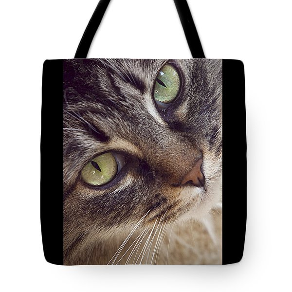 The Look Of Love Tote Bag by Lynn Andrews