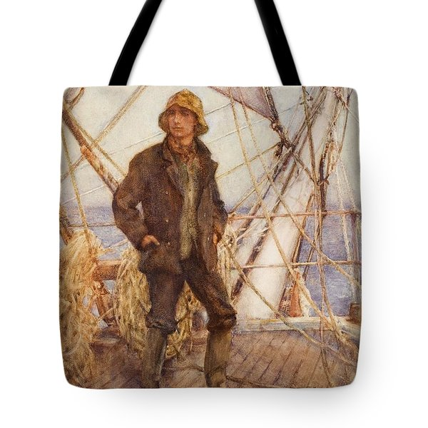 The Lookout Man  Tote Bag by Henry Scott Tuke