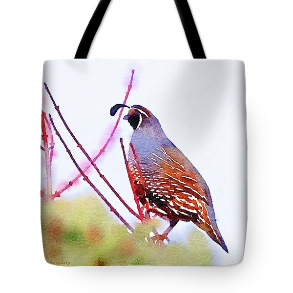 The Lookout Tote Bag by Michele Ross