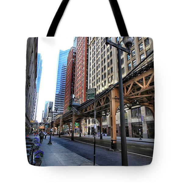 Tote Bag featuring the photograph The Loop by Jackson Pearson