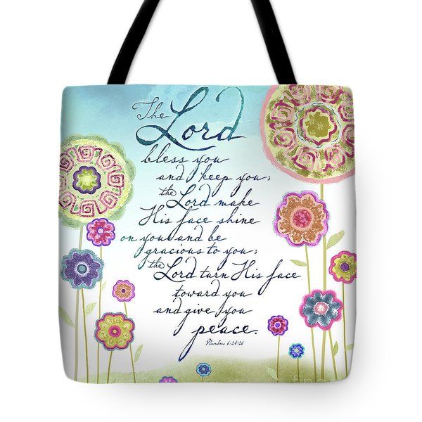 The Lord Bless You Tote Bag