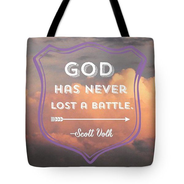 """""""the Lord Is My Strength And My Tote Bag"""