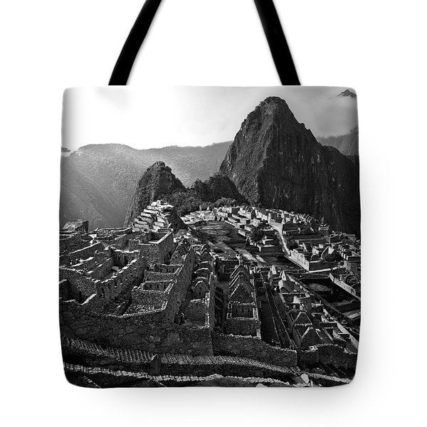 The Lost City Of The Incas Tote Bag