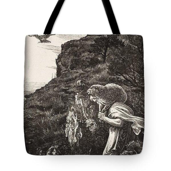The Lost Sheep Tote Bag