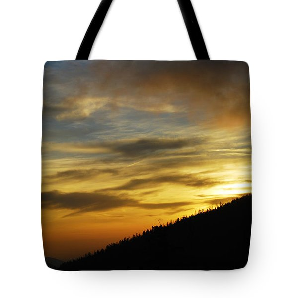 The Loud Music Of The Sky Tote Bag