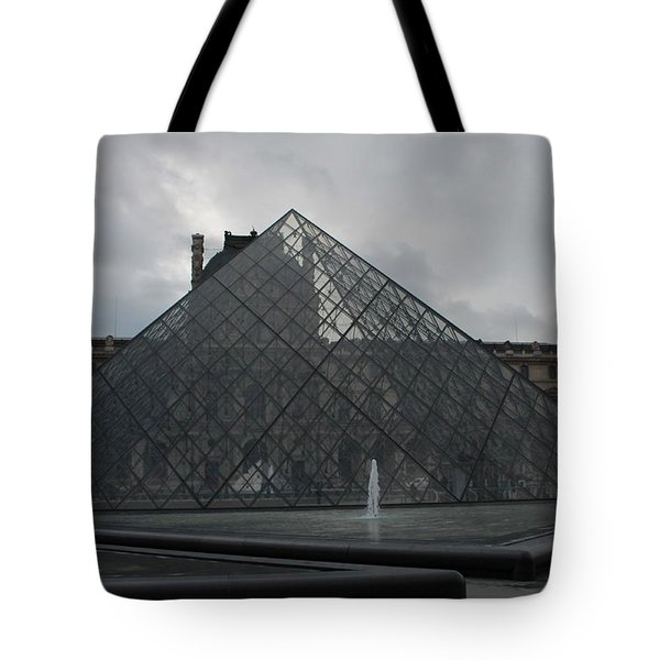 The Louvre And I.m. Pei Tote Bag