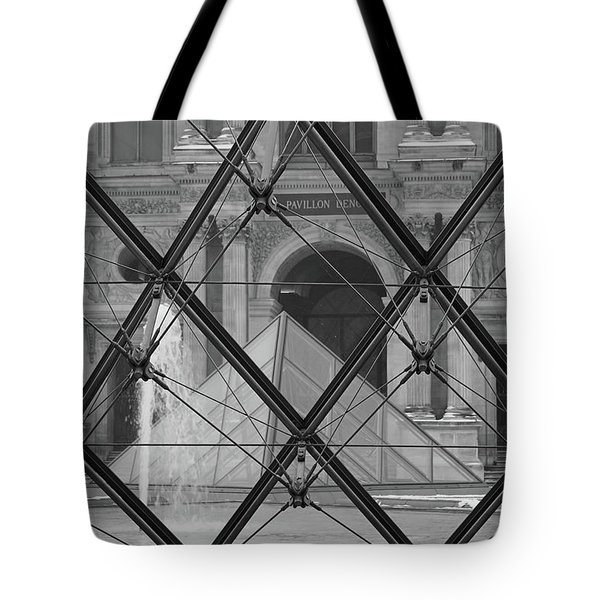 The Louvre From The Inside Tote Bag