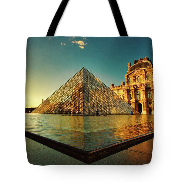 The Louvre Museum Tote Bag