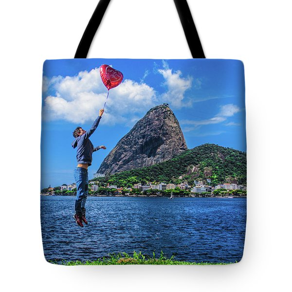 The Love In The Air Tote Bag