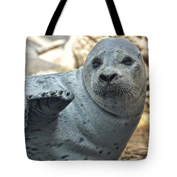 The Love Of A Seal Tote Bag