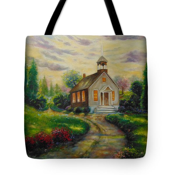 The Love Of God Tote Bag by Emery Franklin
