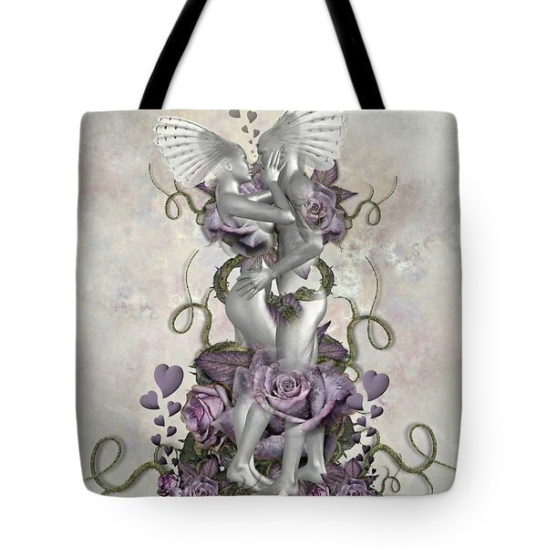 The Love Of The Two Souls Tote Bag by Ali Oppy