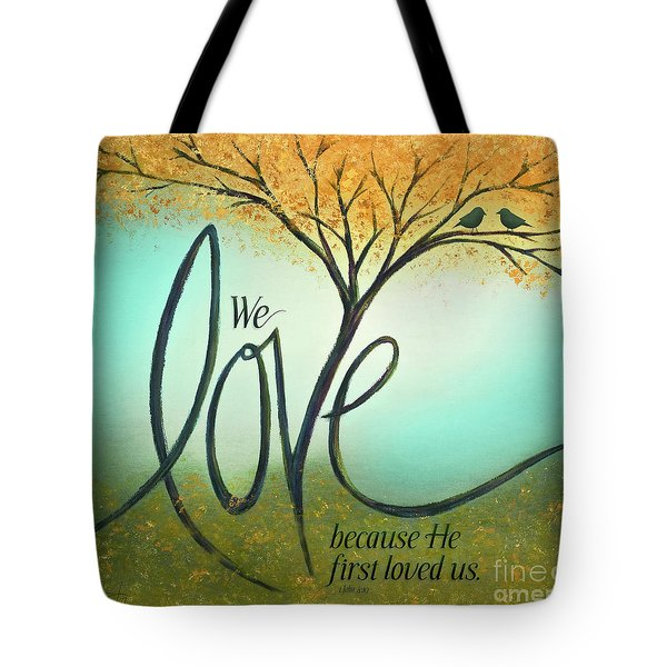 The Love Tree Tote Bag