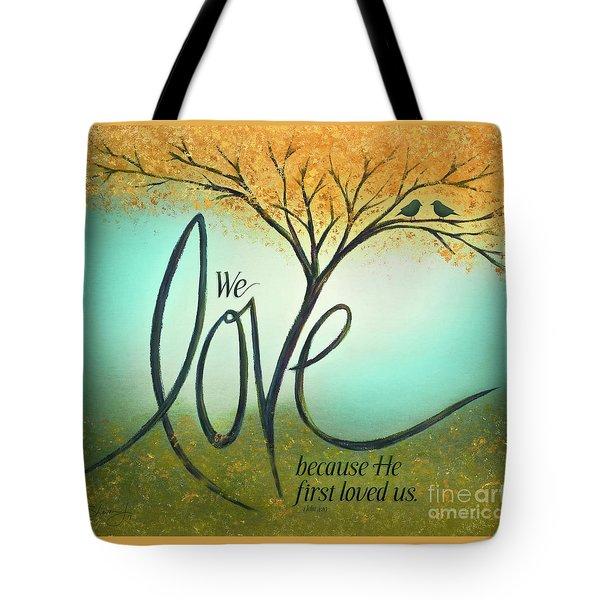 The Love Tree Tote Bag