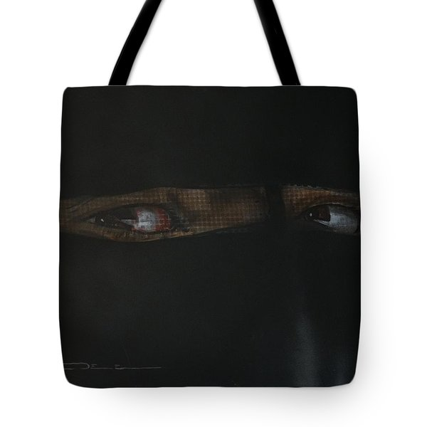 The Lovely Bride Hyphemas Portrait Tote Bag by Eric Dee