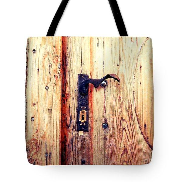 The Lovely Door Handle Tote Bag