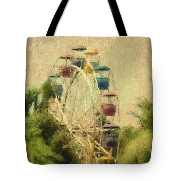 The Lover's Ride Tote Bag