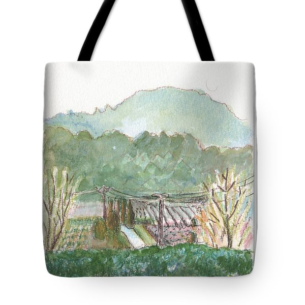 The Luberon Valley Tote Bag