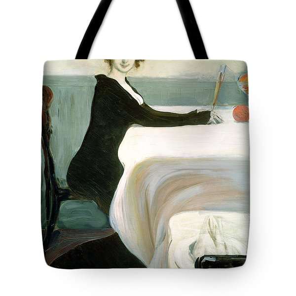 The Luncheon Tote Bag by Leon Bakst