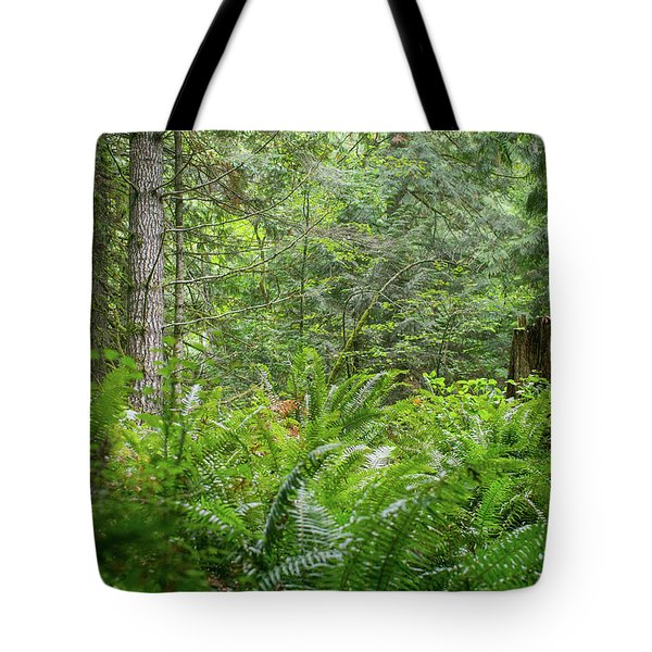 The Lush Forest Tote Bag