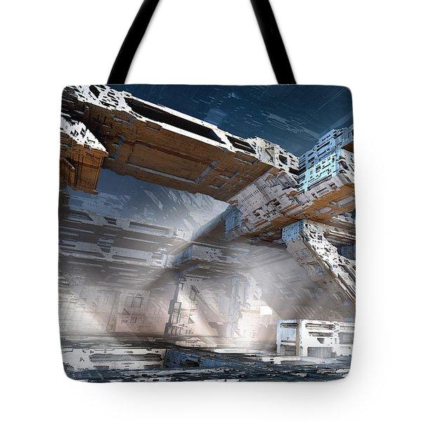 The Machine Room Tote Bag