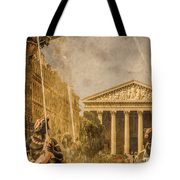 Paris, France - The Madeleine Tote Bag