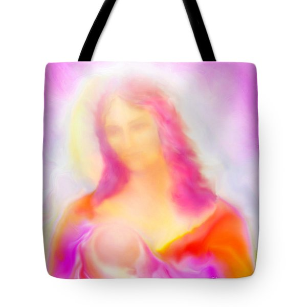 The Madonna Of Compassion Tote Bag