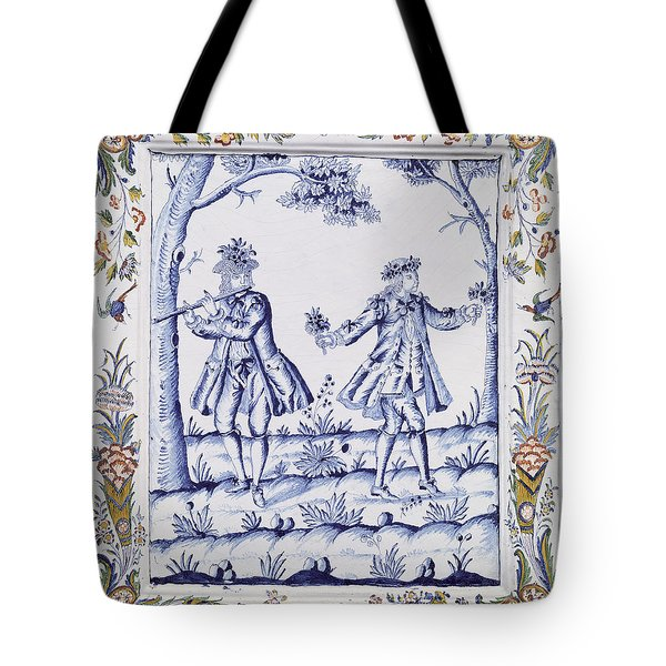 The Magic Flute Tote Bag by French School
