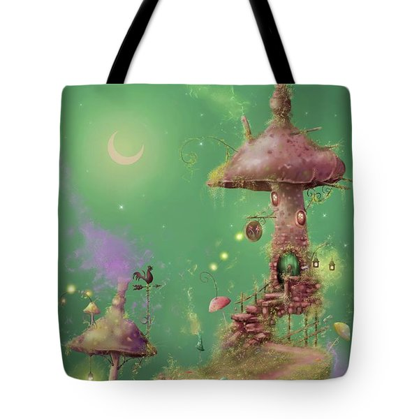 The Mushroom Gatherer Tote Bag