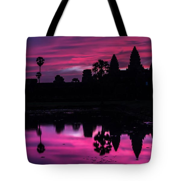 The Magic Of Angkor Wat Tote Bag