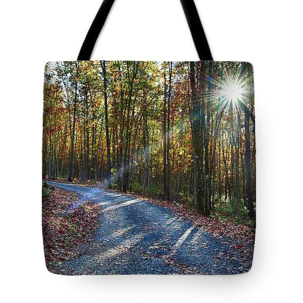 The Magic Of Autum Tote Bag