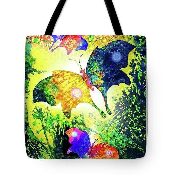 The Magic Of Butterflies Tote Bag