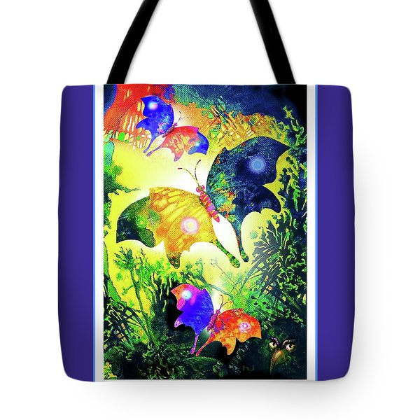 The Magic Of Butterflies Tote Bag by Hartmut Jager
