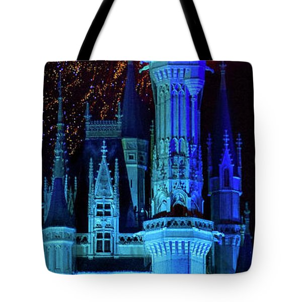 The Magic Of Disney Tote Bag by Mark Andrew Thomas