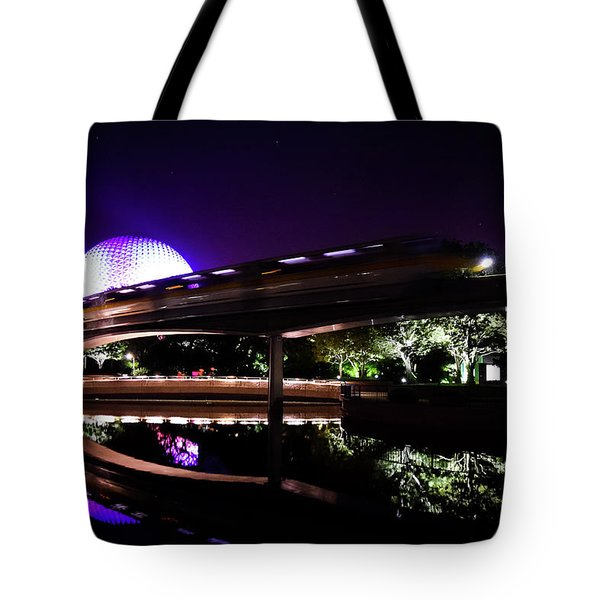 The Magic Of Epcot Tote Bag