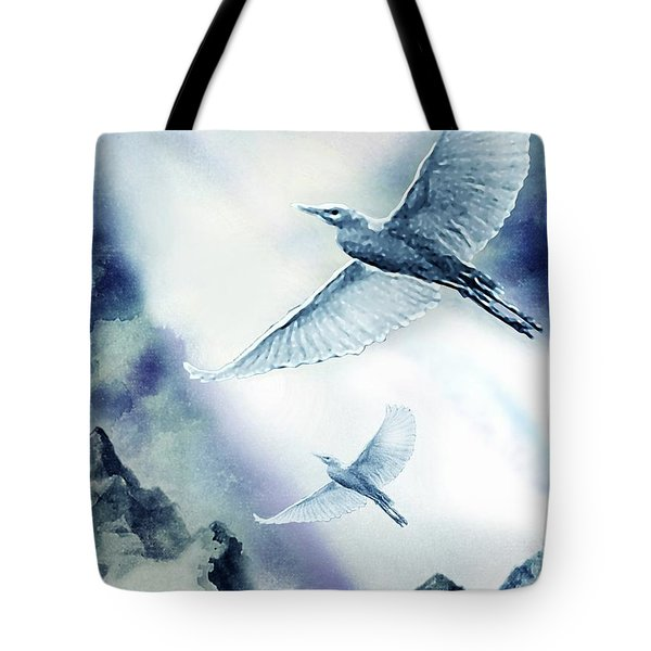 The Magic Of Flight Tote Bag