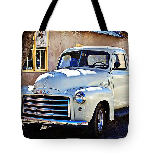 Tote Bag featuring the photograph The Magic Of The 1949 Gmc 100 by Barbara Chichester