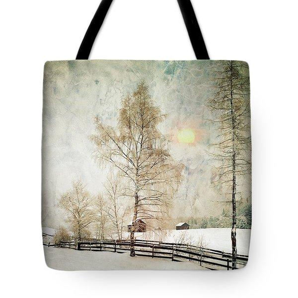 The Magic Of Winter Tote Bag