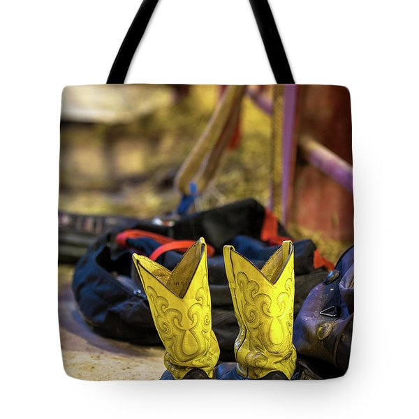 The Magical Boots Of A Rodeo Cowboy Tote Bag