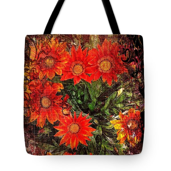 The Magical Flower Garden Tote Bag