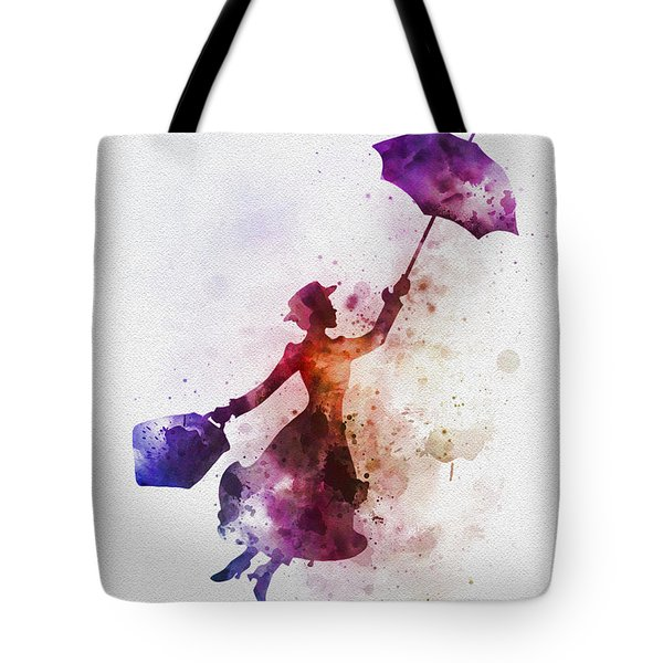 The Magical Nanny Tote Bag by Rebecca Jenkins